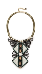 Nocturne Tiebele Necklace Copper Multi