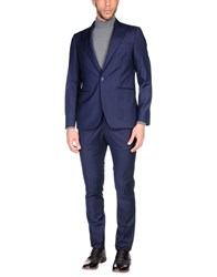 Angelo Nardelli Suits Dark Blue