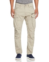 G Star Raw Rovic New Tapered Fit Cargo Pants Dune