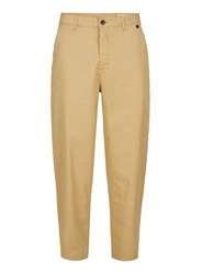 Selected Brown Homme Camel Relaxed Fit Trousers