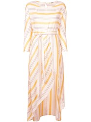 Lemlem Zerit Slit Front Dress Yellow