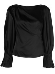 Peter Pilotto Draped Satin Blouse 60