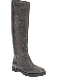 Alexander Wang 'Georgia' Knee Length Riding Boot Grey