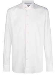 Orian Slim Fit Button Down Shirt White