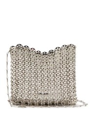 Paco Rabanne Iconic 1969 Chain Shoulder Bag Silver