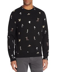 Eleven Paris Famichar Graphic Sweatshirt Black