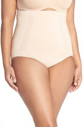 Plus Size Women's Spanx High Waist Shaping Briefs Soft Nude