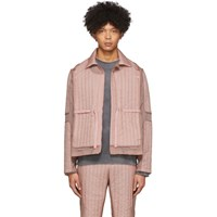 Craig Green Pink Quilted Skin Jacket