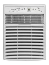 Frigidaire 10000 Btu 115V Slider Casement Room Air Conditioner With Full Function Remote Control White