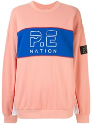 P.E Nation Sonic Sweatshirt Pink