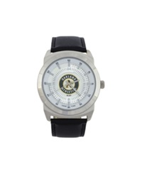 Game Time Oakland Athletics Vintage Watch Black Silver