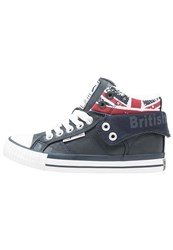 British Knights Roco Hightop Trainers Navy Dark Blue