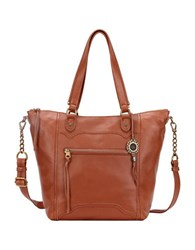 The Sak Tahoe Leather Tote Bag Cognac