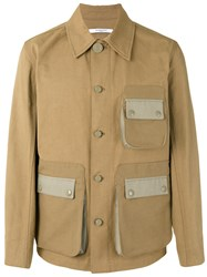 Givenchy Field Jacket Men Cotton 50 Nude Neutrals