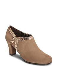 Aerosoles Day Strole Microsuede Shooties Taupe