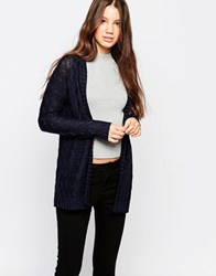 Bellfield Edge To Edge Cardigan Navy