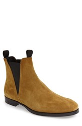Acne Studios Men's 'Zach' Chelsea Boot Beige Suede