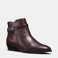 Coach Coleen Bootie Warm Oxblood