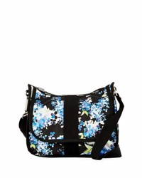 Le Sport Sac City Hobo Everyday Bag Black Pattern