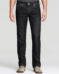 True Religion Jeans Ricky Relaxed Fit Cords St Black