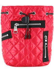 Sonia Rykiel By Quilted Backpack Red