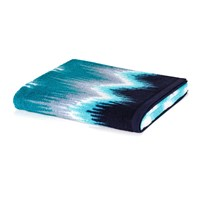Moeve Ikat Towel Blue Bath Towel