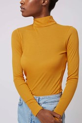 Jersey Roll Neck Top By Boutique Ochre