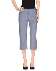Dandg Trousers 3 4 Length Trousers Women Dark Blue
