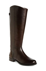 Women's Arturo Chiang 'Falicity' Tall Boot Dark Chocolate Leather