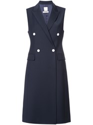 Kuho Double Breasted Tailored Dress Black