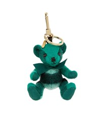 Burberry Shoes And Accessories Thomas Check Bear Charm Female Green