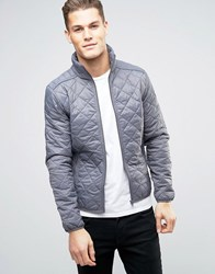 Blend Of America Quilted Lightweight Jacket 70147 Granite Grey
