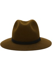 Humanoid Fedora Hat Brown