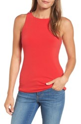 Halogenr Women's Halogen Double Layer Tank Red Pepper