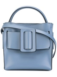 Boyy Devon Shoulder Bag Women Calf Leather Leather Suede One Size Blue