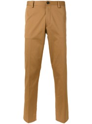 Paul Smith Ps By Tailored Trousers Brown