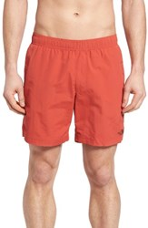The North Face Men's Swim Trunks Sunbaked Red