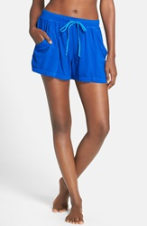 Hard Tail Four Pocket Drawstring Shorts Sapphire
