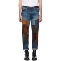 Junya Watanabe Indigo Levis Edition 501 1954 Customized Jeans