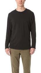 Baldwin Denim Long Sleeve Pima Tee Black