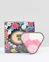 Anna Sui Face Colour Rose Blush And Highlight Mysterious Cherry Red