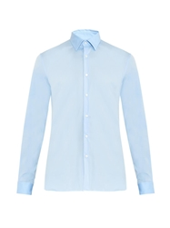 Burberry Seaford Slim Fit Cotton Blend Shirt