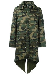 Hood By Air 'Uniform' Coat Green