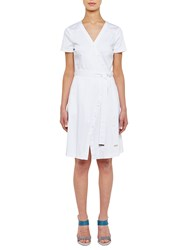 Ted Baker Colour By Numbers Advina Crossover Dress White
