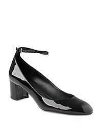 Whistles Ness Mary Jane Ankle Strap Pumps Black