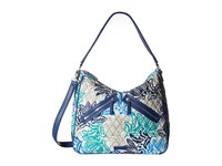 Vera Bradley Vivian Hobo Bag Santiago Hobo Handbags Blue