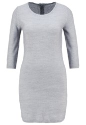 Jdymathison Jumper Dress Light Grey Melange Mottled Light Grey