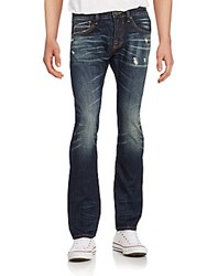 Cult Of Individuality Rebel Slim Straight Jeans Blue