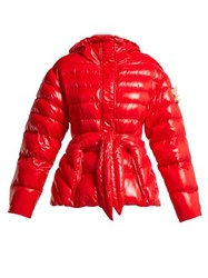 4 Moncler Simone Rocha Lolly Quilted Down Jacket Red