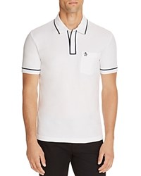 Original Penguin Earl Slim Fit Polo Shirt Bright White